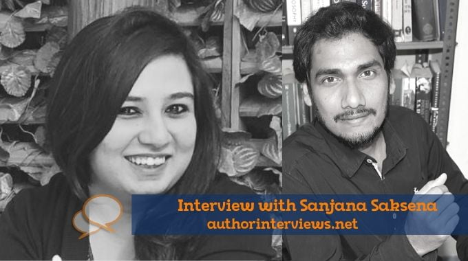Sanjana Saksena Author Interviews